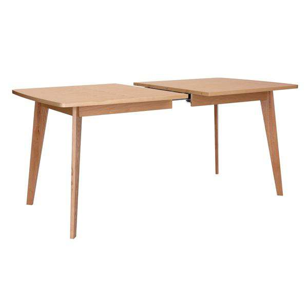 KENSAY dining table, in oak, nordic inspiration of great quality.