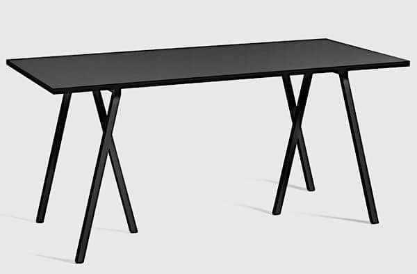 The LOOP dining table by HAY is beautiful, easy to live and affordable