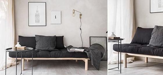 PACE, divano letto